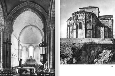 """Image: François Eygun, """"Saintonge romane"""", Editions Zodiaque, Abbaye Sainte-Marie de la Pierre-qui-Vire, 1979, p.112 - © FP01"""