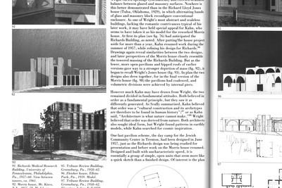 """La monumentalité est énigmatique. On ne peut le créer intentionnellement. Il n'est besoin ni du meilleur matériau ni de la technologie la plus avancée dans une oeuvre de nature monumentale, pas plus qu'il ne fallut la meilleure encre pour dessiner la Magna Carta. Toutefois, nos monuments architecturaux traduisent un effort vers la perfection structurelle qui a contribué pour une large part à leur aspect impressionnant, à la clarté de leur forme et à leur échelle logique.  Texte: Louis I. Kahn, La Monumentalité, 1944  Image: David B. Brownlee et David G. De Long, """"Louis I. Kahn: In the Realm of Architecture"""", Rizzoli, New York, 1991 - © FP01"""