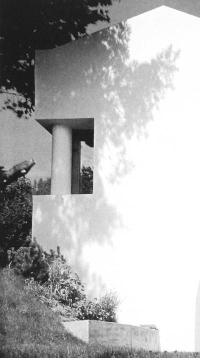"""Image: Thomas Boga, """"Die Architektur von Rudolf Olgiati"""", Birkhäuser, Bâle, 2009 - © FP01"""